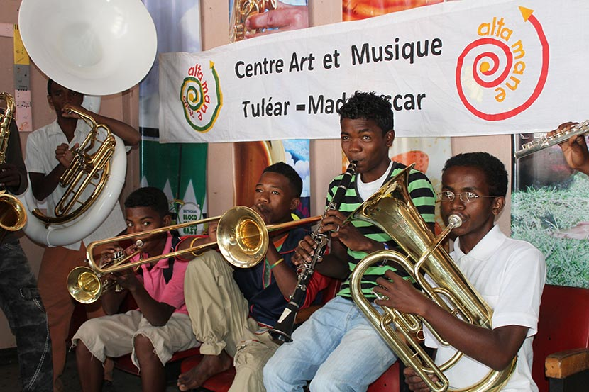 Art and music center - Tulear - Belavenir (Madagascar)