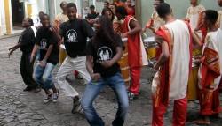 Echange AMREF (Kenya)-Projeto Axé (Brésil)