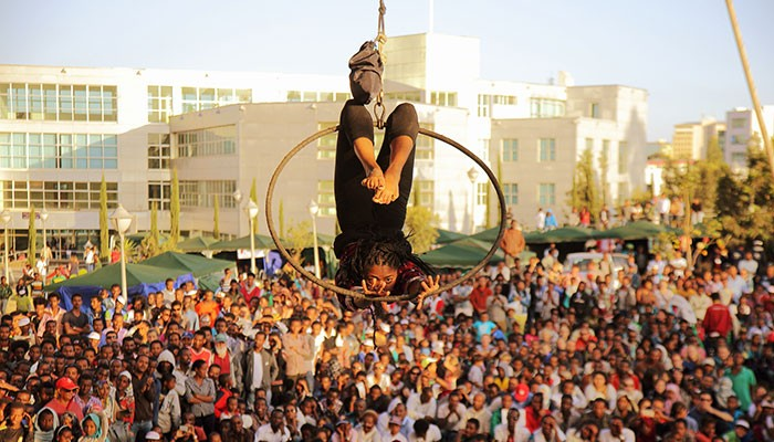 Alea des Possibles, African Circus Arts Festival 2015 (photo Geo-Kalev)