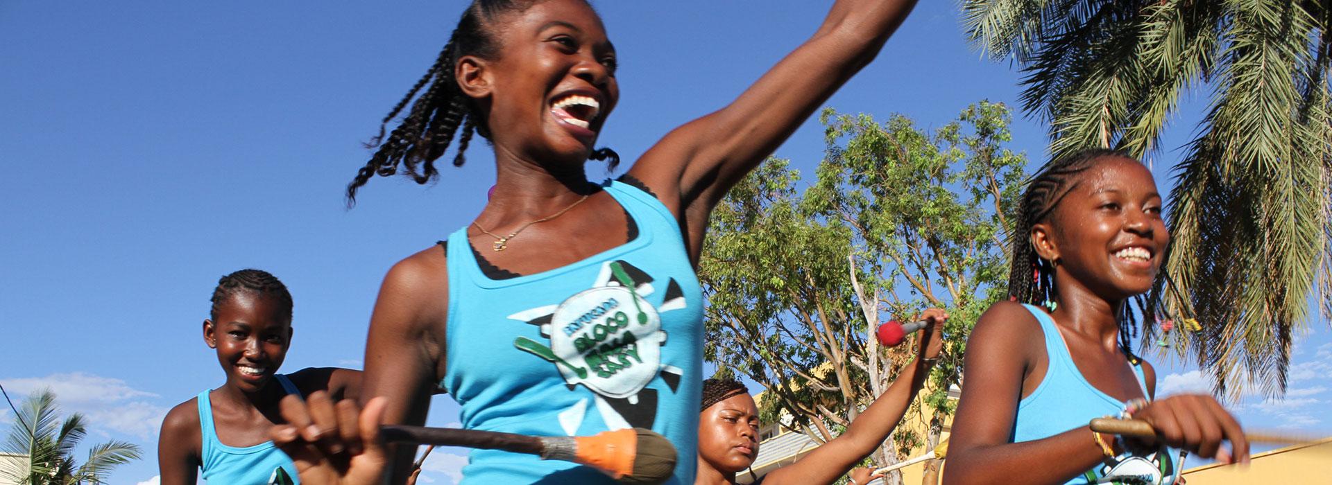 Development and strengthening of Bel Avenir Center for Art and Music - Madagascar