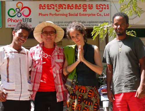 An Exchange between Fekat Circus (Ethiopia) and Phare Ponleu Selpak (Cambodia) 2017