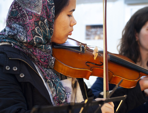 Social Inclusion Through Music in Refugee Camps