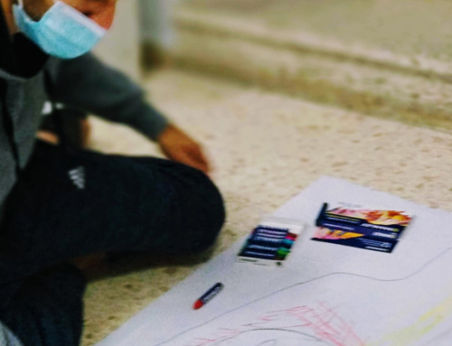 Art Therapy Intervention for Asylum Seekers in Málaga Phase I-II